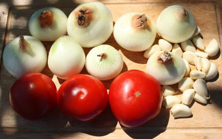 Овощи для мампара