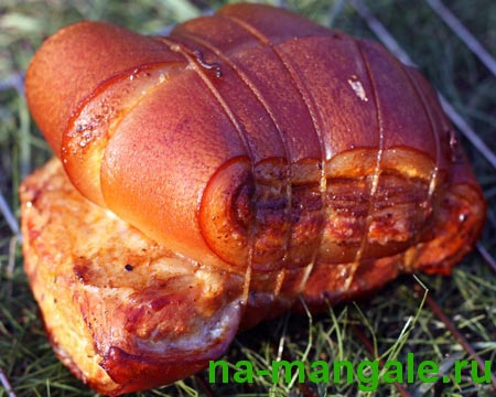 Копчёная свиная шкурка
