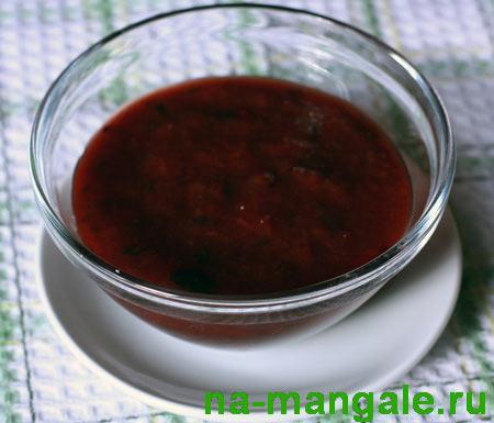 Ткемали - сливовый соус