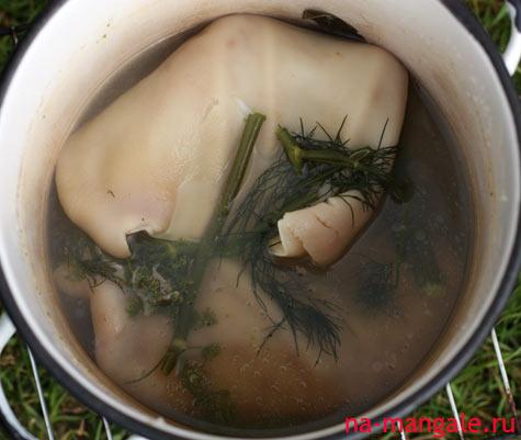 рецепт салата ушки по корейски