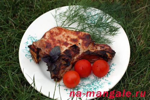 стейки из корейки на кости рецепт в духовке