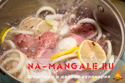 Шашлык в минералке и майонезе рецепт