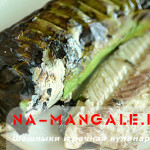 Скумбрия на мангале