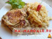Рецепт приготовления куриного мяса с рисом в мультиварке