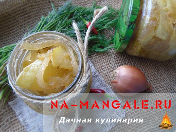Салат из кабачков на зиму со вкусом грибов