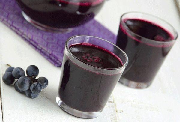 рецепты приготовления виноградных компотов