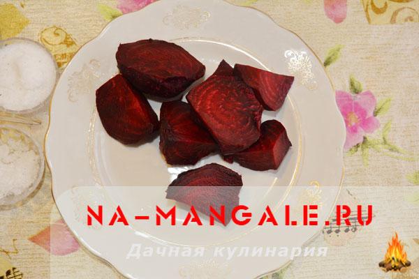 Свекольная икра с яблоком на зиму рецепт