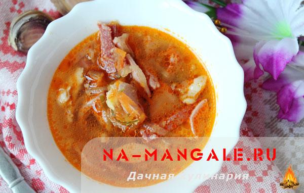 солянка классическая рецепт с фото из колбас