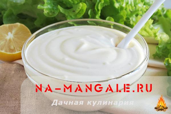 Рецепты приготовления блендером домашнего майонеза