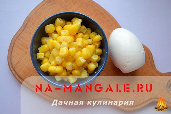 рецепт салата пекинская капуста креветки