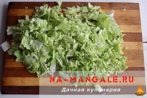 салат из цветной капусты рецепт с майонезом