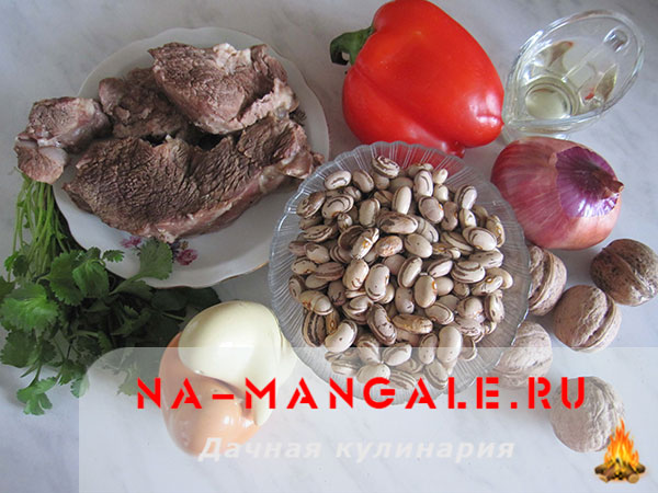 приготовление салатов рецепты с фасолью