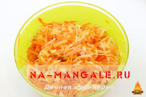 рецепт салатов из редиса дайкон