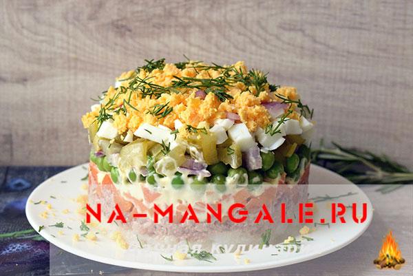 крабовые палочки и яйца салат рецепт