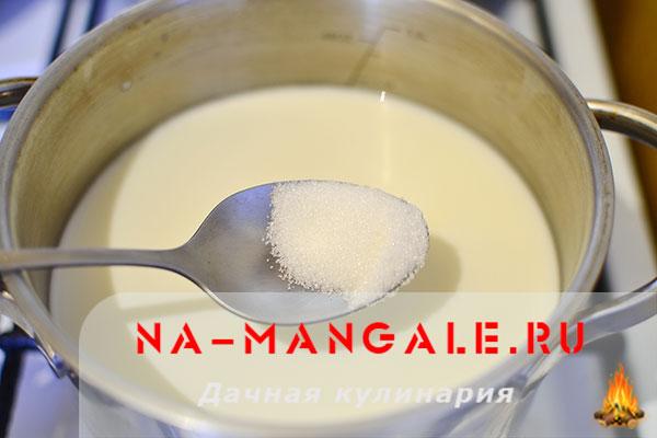 как приготовить суп молочный с пшеном