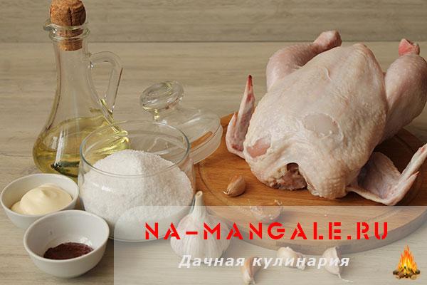 запеченная курица с картошкой в духовке фото рецепт
