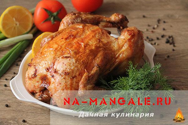 как приготовить курицу в соли в духовке видео