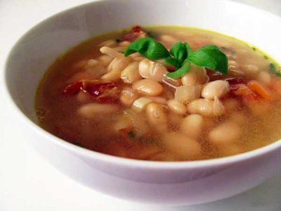 постный фасолевый суп рецепт из красной