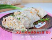 Миниатюра к статье Рулет из лаваша с консервированной рыбой: быстро и вкусно!