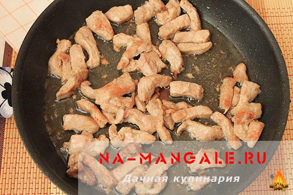 Азу из свинины рецепт пошагово
