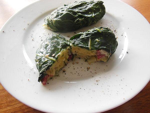 как приготовить омлет для салатов