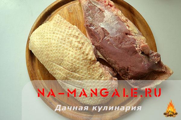 рецепт клюквенный соус индейка