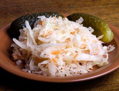 вкусные рецепты соленой капусты