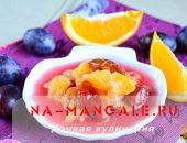 Миниатюра к статье Запасаемся вкусным вареньем: сливы + апельсины