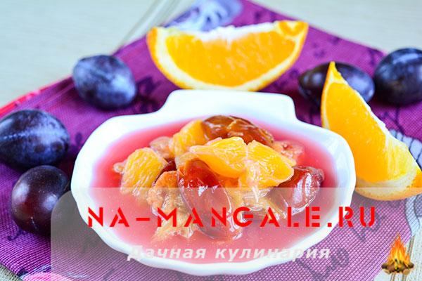 Апельсиново-сливовое варенье: лучшие варианты
