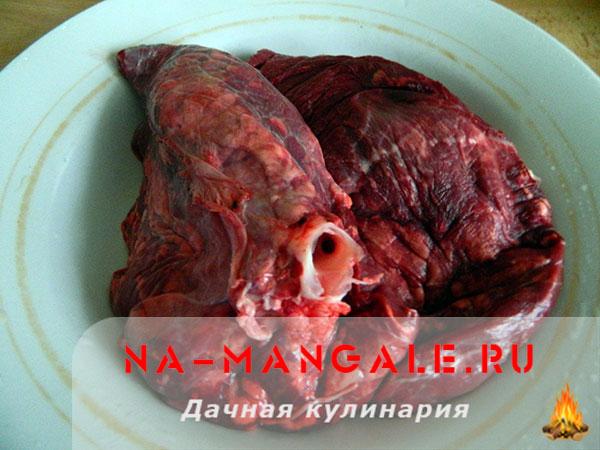 как приготовить легкое свиное с фото рецепты