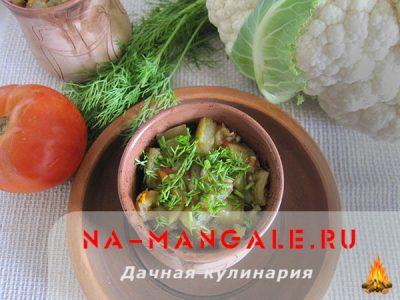 кабачки с мясом в горшочках в духовке рецепты с фото
