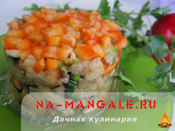 Как приготовить быстро и вкусно баклажанный салат