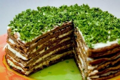 Пошаговый рецепт приготовления торта