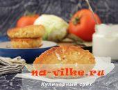 Овощные котлеты с капустой и манкой