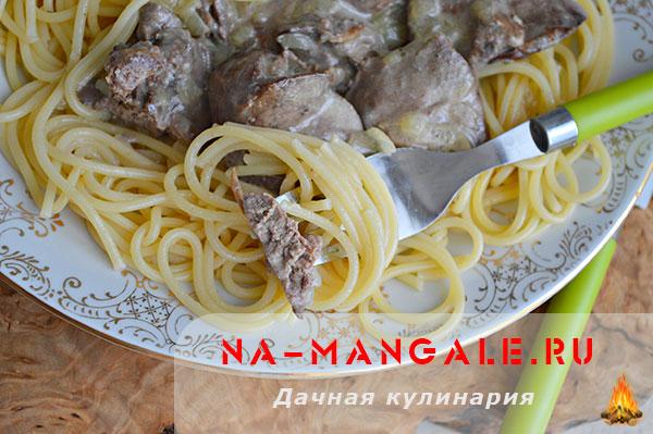 Куриная печень в молоке с луком: рецепт приготовления с фото