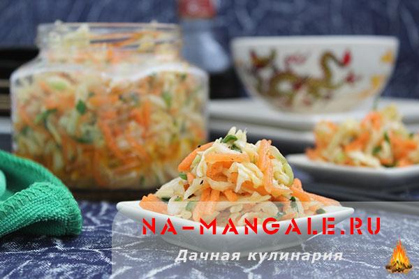 рецепт салата свекла по корейски