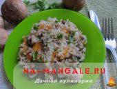 Миниатюра к статье Приготовление вкусного риса с грибами: 6 рецептов на выбор
