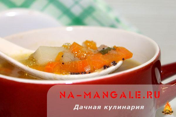 Рецепт тыквенного супа Мудрости для ума из ЗОЖ