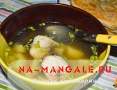 Приготовление диетического рыбного супа из хека