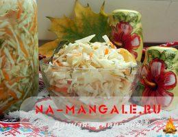 Как заквасить в домашних условиях яблоки с капустой