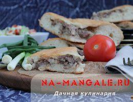 Кубдари по-грузински с мясом