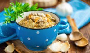 Миниатюра к статье Лучшие рецепты куриной печени со сметаной