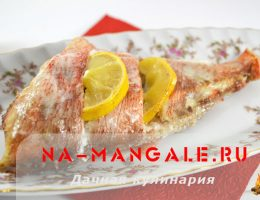 Рецепты приготовления в духовке красного окуня