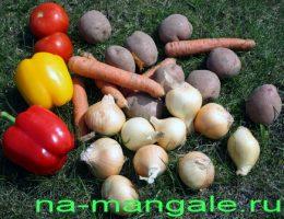 Овощи для шурпы