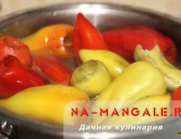 Как заготовить сладкий болгарский перец впрок для фарширования