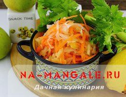 Дайкон - основа вкусных и простых салатов