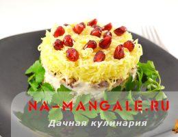 Рецепты салатов из рыбных консервов