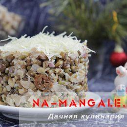Рецепты приготовления салатов на основе крупы маш