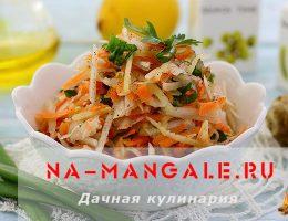 Рецепты салатов на основе топинамбура