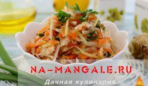 Миниатюра к статье Рецепты салатов из топинамбура
